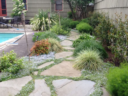 Garden Paths And Walkways Precision Landscape Services
